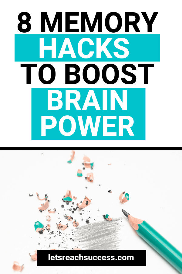 These top 8 memory hacks can help you make the most of your brain power and boost your memory in no time. #memoryhacks #productivity #brainpower #lifehacks #boostyourmemory #boostyourbrain #productivitytips