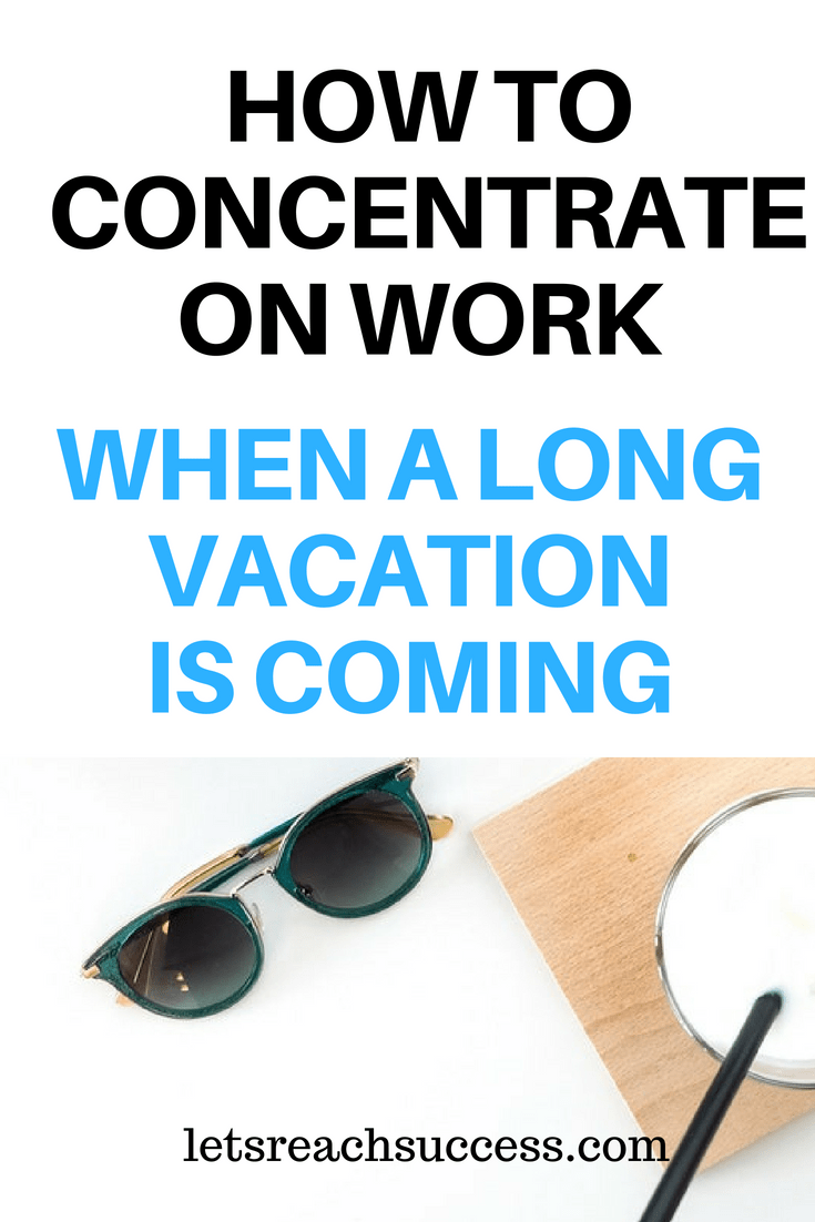 If you go on vacation stressed out and having a lot of unfinished work, you're likely to feel anxious during it. Here are some tips. #vacationtips #work #productivity