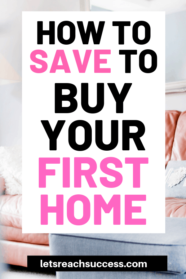 Want to buy your first home?Here are some tips on how you can save money for it: #savemoney #buyyourfirsthome #buyahome #realestatetipsforbuyers