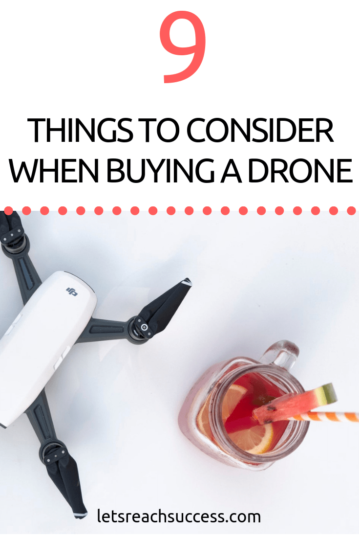 Being a first-time drone buyer can be intimidating. There are some things you should expect from most drones. Check this before buying a drone #drones #buyingadrone #howtobuyadrone