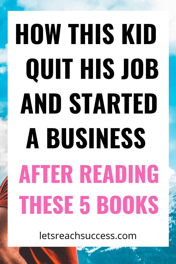 Check out the 5 life-changing books this guy read, what he learned from each and how he applied the lessons to his life and business: #success #bookstoread #bestbooks #businesstips