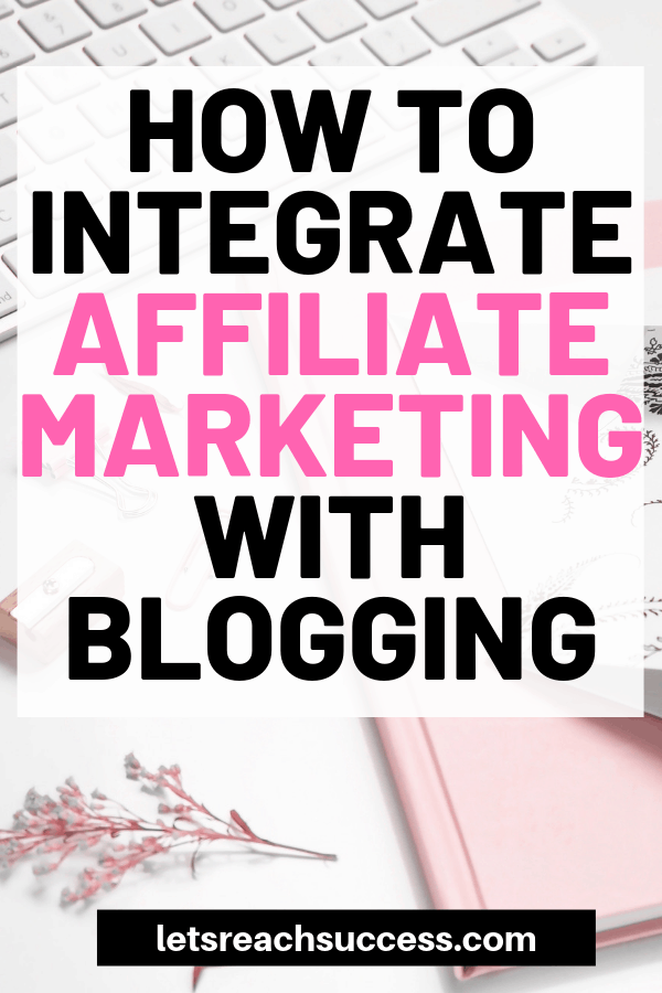 Affiliate marketing is not just about posting hyperlinks and being a salesperson. Here's how to integrate this business model with your blog. #bloggingtips #affiliatemarketingforbeginners #affiliatemarketing #makemoneyblogging #bloggingforbeginners