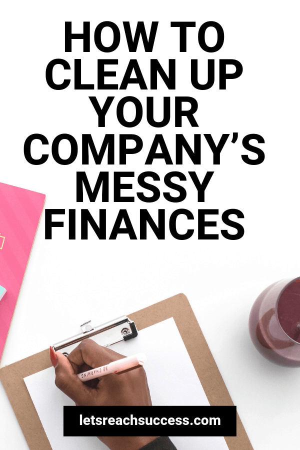 Are your company's finances becoming difficult to keep track of?Here are a few organization tips to help you to take back financial control. #moneytips #moneymanagement #financetips #financialplanning #budgeting