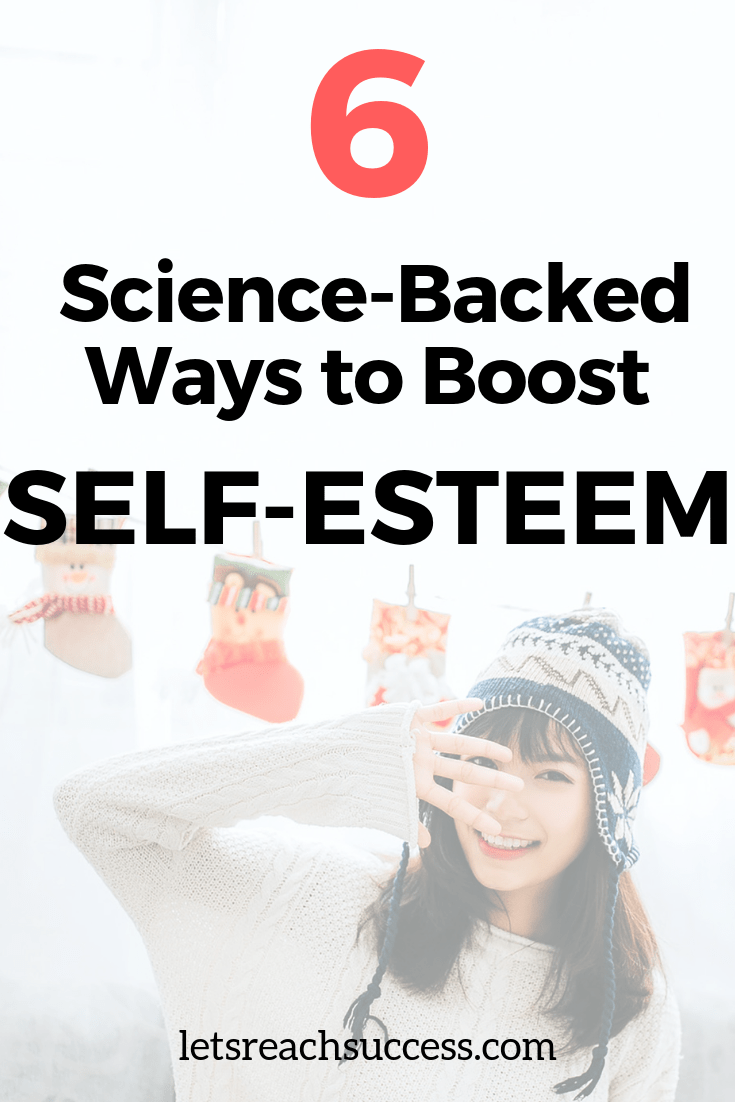 There are plenty of proven ways (scientifically) that can help you get your self-esteem back after a period of darkness. Here's how: #boostselfesteem #confidencetips #confidentwoman