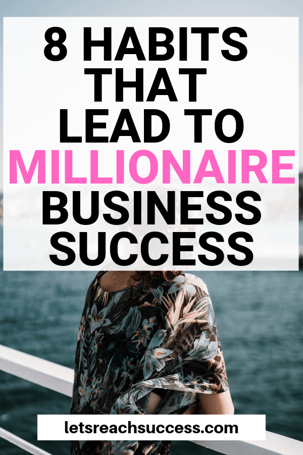 See what millionaires do differently that brings them sucess in business and in life. Hint: it all starts by developing the right habits. #millionaire #millionairemindset #becomeamillionaire #millionairehabits #millionairehacks #selfmademillionare #makemoney