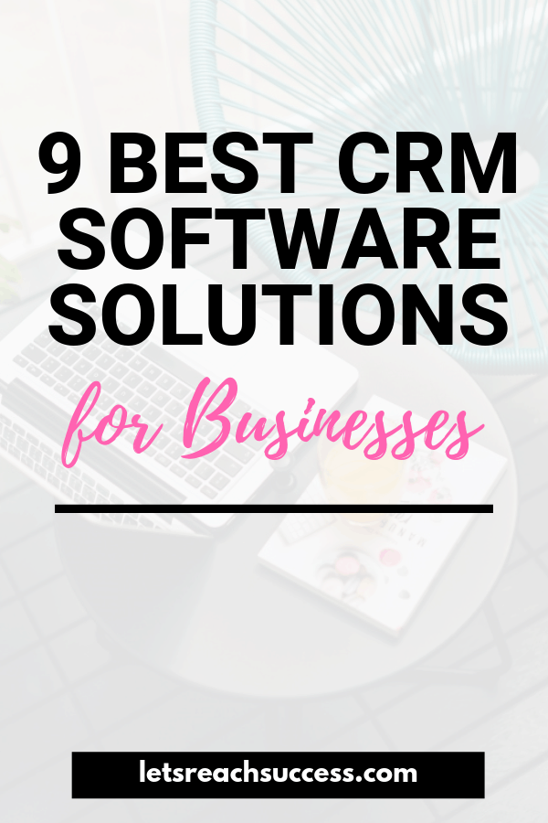With good CRM, businesses get a better understanding of their customers. Here's a list of the best CRM software solutions: #crmsoftware #crmforsmallbusiness #businesstools #businesssoftwaretools #smallbusinesstips #crm
