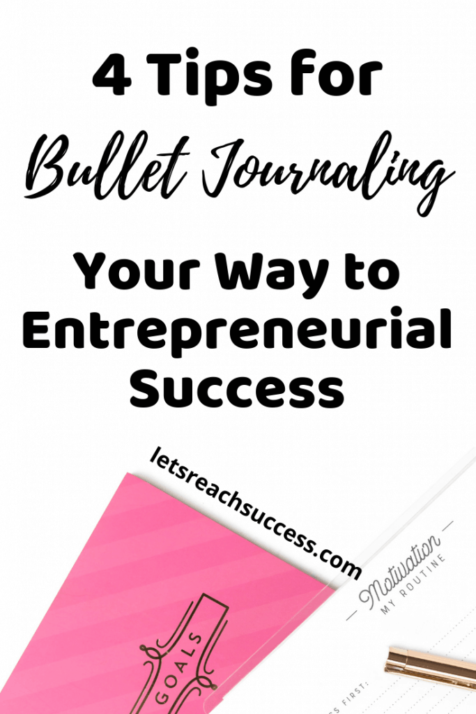 Bullet journalling is a business tool that can help you work smarter. Learn how to leverage the power of a bullet journal and use it right: #journaling #goals #entrepreneur #bulletjournal #bulletjournaling
