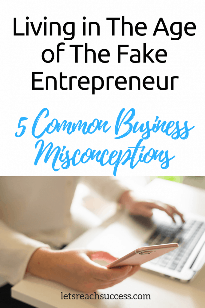 You shouldn't fall for any of the common small business misconceptions. Let's shed some truth on the reality of owning a small business. #smallbusinessowner #hustle #girlboss #entrepreneurship