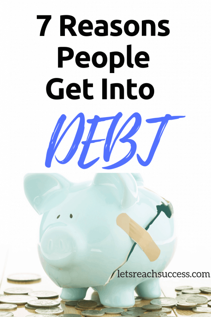 We are all aware that the accumulation of debts limits our freedom. But why are we still incurring debts? Here are the main reasons: #debt #loans #studentloans #budget