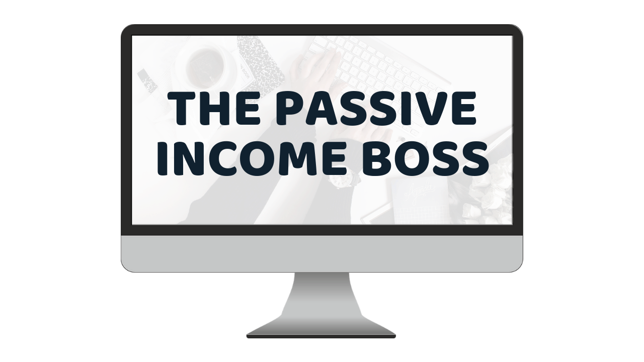passive income boss - free blogging course