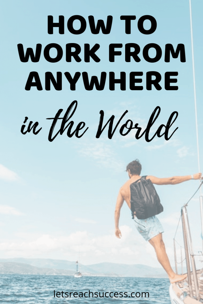 The digital nomad lifestyle is an infinitely rewarding path, both spiritually and financially. Here's how to work from anywhere in the world: #workanywhere #digitalnomad #fulltimetravel