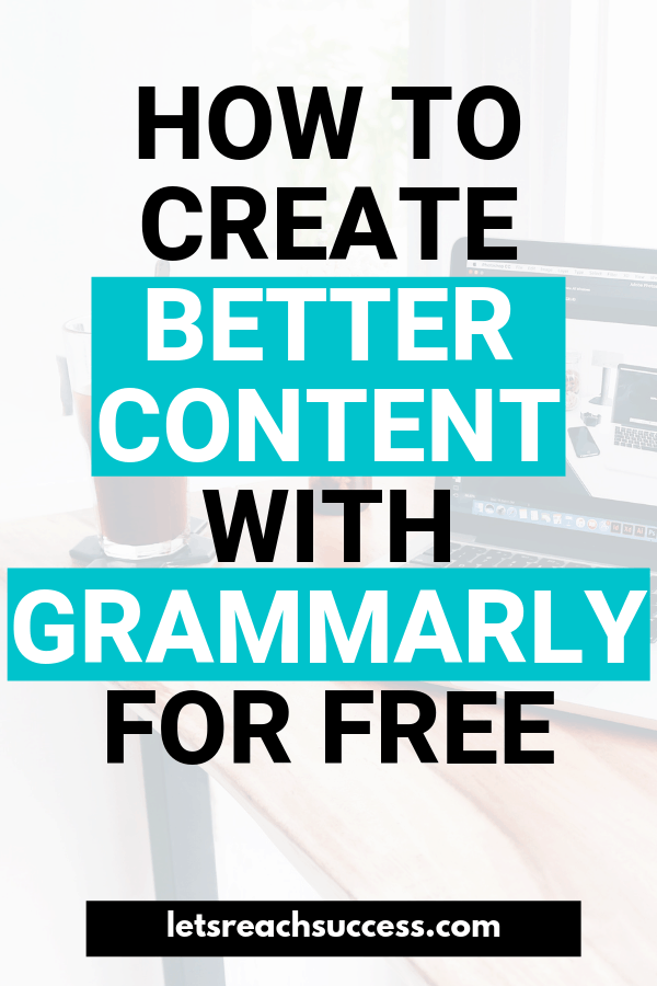 Want to write great content for your blog? Or maybe you want to check for plagiarism? Check out Grammarly - the best plagiarism checker and proofreader - and start using it for free today. #grammarly #plagiarism #grammarlyapp #grammarlyreview #bloggingtips