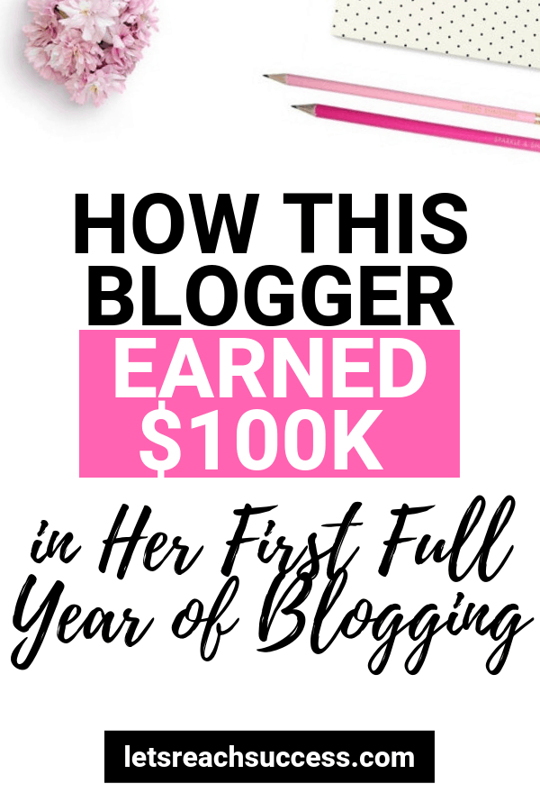 In this interiew, Kristin Larsen from Believe In A Budget shares how she started her blog and earned $100K in her first full year blogging: #makemoneyblogging #bloggingtips #bloggingforbeginners #makemoneyonline #sidehustles