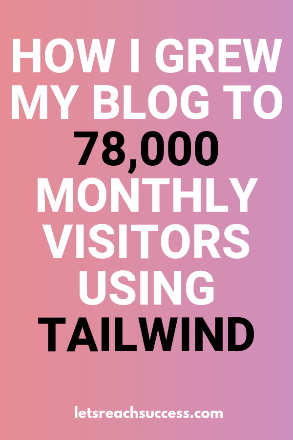 Want to bring traffic to your blog quickly and are already using Pinterest? Then you need Tailwind too. Check out the immediate progress I saw after using Tailwind for Pinterest and the exact steps I took to bring nearly 80,000 people to my blog in 1 month: #blogtraffictips #pinteresttipsforbloggers #tailwindpinterestmarketing #tailwindtips #bloggingtipsforbeginners