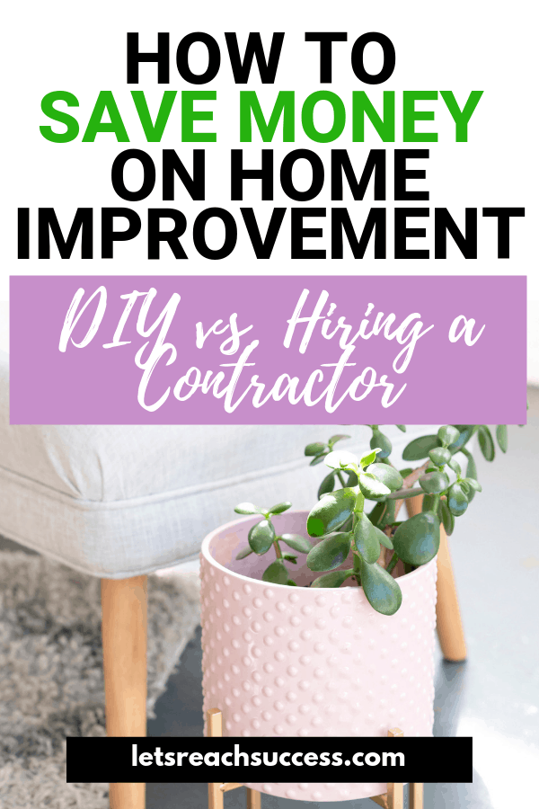 Want to save money on home improvement? Here's a look at why hiring experienced professionals is better for home improvement projects than going with the DIY approach: #homeimprovement #moneysavingtips #homeimprovementonabudget #homerenovation #savemoneytips