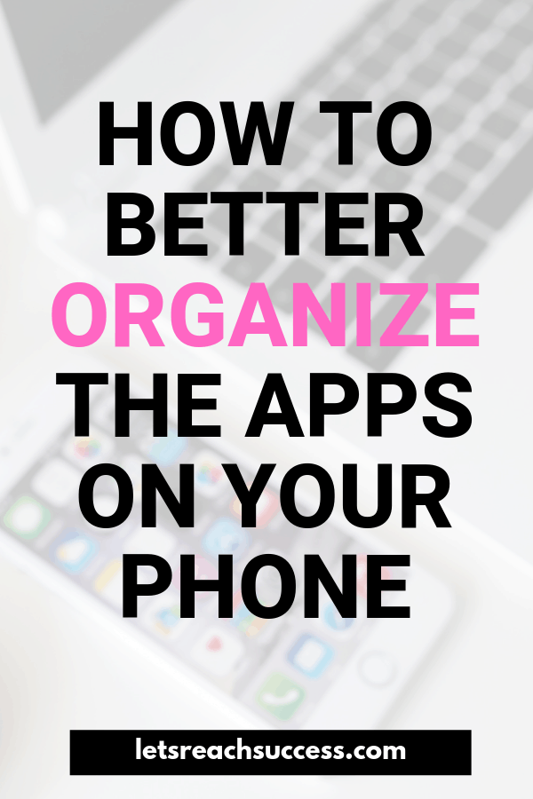 Phones have become an essential tool in everyday life. Here are some tips for keeping yours optimized for your personal needs and success. #productivitytips #organizeyourphone #organizeyourphoneapps #organization #productivity #productivitytools #phonehacks