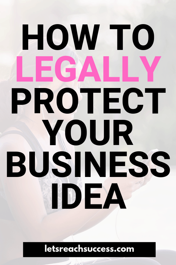 Take the necessary legal steps to safeguard your business idea. Here's how to legally protect your side hustle business: