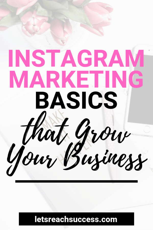Instagram is a marketing powerhouse that can help any busines. This guide sheds light on the Instagram marketing fundamentals. #instagrammarketingtips #instagrammarketing #instagrammarketingstrategy #instagramforbusiness #instagramforbeginners #socialmediamarketing