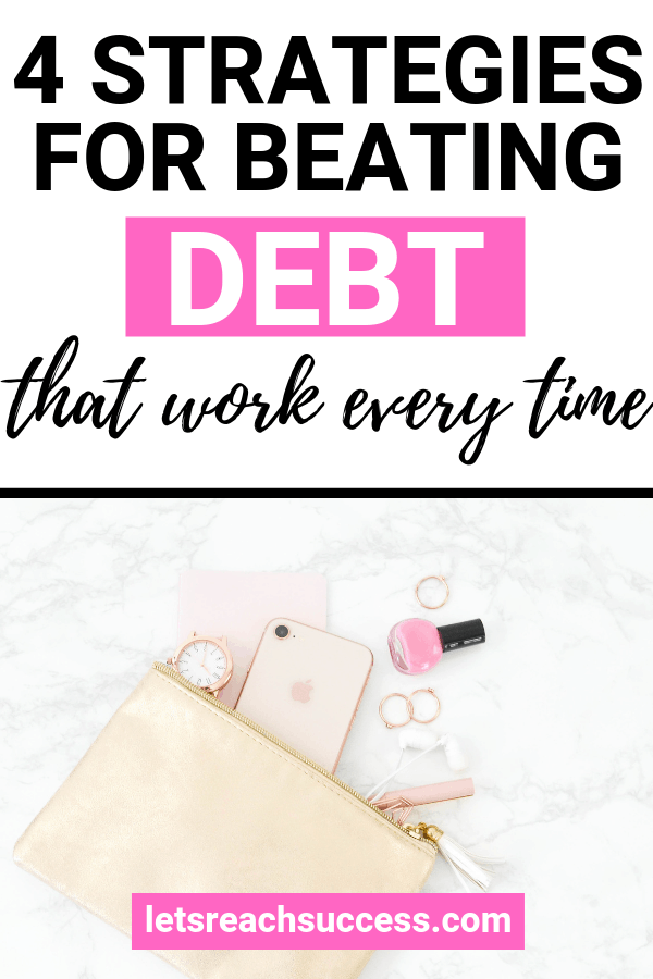No matter your history with debt, there's a way for you to move forward and beat it. Here are some practical tips to get out of debt: #debtpayoff #debtfree #getridofdebtfast #howtopayoffdebtquickly #moneytips #eliminatedebttips