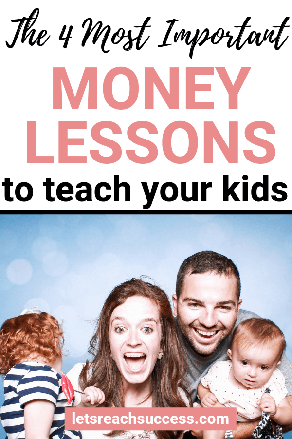 One of the more challenging topics we face is teaching our children about the value of money. Here are some money lessons to pass on: #moneytips #moneylessonsforkids #savemoney #moneysavingtips #debtpayoff #finance #budgeting #moneytipsforteenagers
