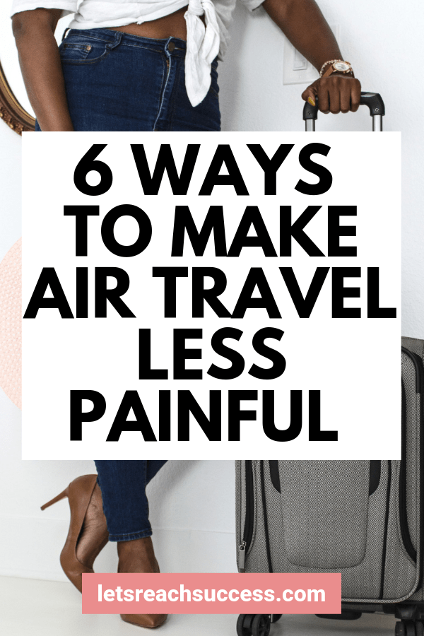 Here are some of the best travel hacks that can help your trip be more exciting and make air travel comfortable. #airtravel #travelhacks #airtraveltips #traveltips #savemoneytraveling