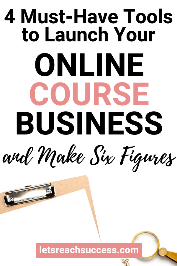 Through running an online course business, earning a six-figure monthly income is within reach. Here are the tools you need: #onlinecoursebusiness #makemoneyonline #businessideas #workfromhome #sixfigureincome #moneymakingideas