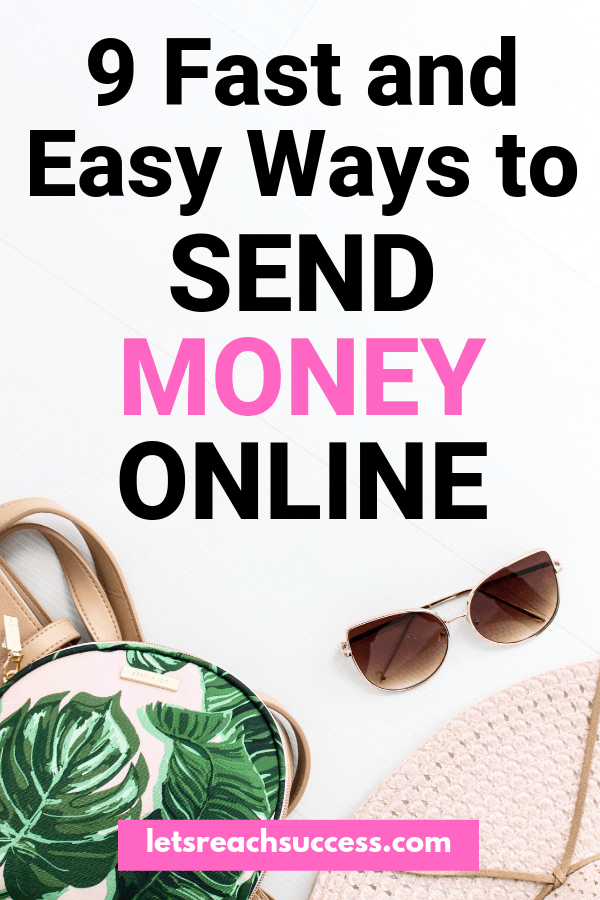 Do you need to send money online? There are many methods to transfer money online that are easy and extremely fast. #moneytips #finance #sendmoneyonline #moneytools #financetips