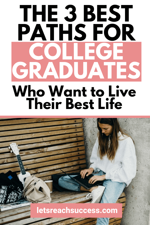 Dear future graduate who seeks freedom, independence and doing meaningful work, there are many paths for you now. Here are the options: #makemoneyonline #lifestyledesign #traveltheworld #collegelife #sidehustleideas #locationindependent