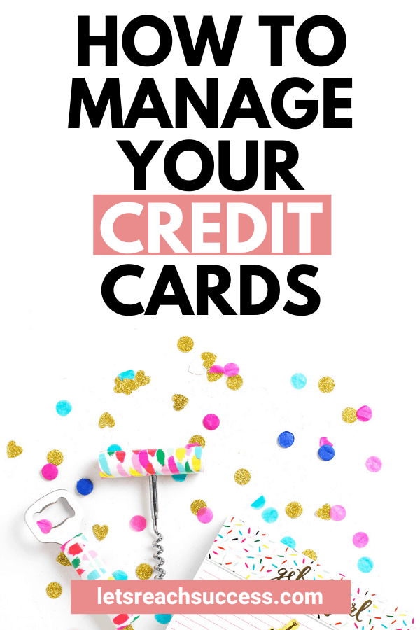 Credit cards can turn your dreams into reality but they can also be dangerous. Here's how to manage them effectively: #creditcardtips #moneytips #creditcarddebt #payoffdebt #moneymanagement