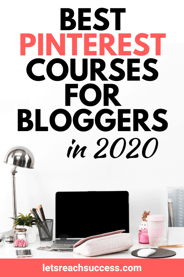 Want to increase your blog traffic and income with Pinterest? Check out the best Pinterest courses for bloggers that will help you master it: #pinterestcourse #pinterestcourseforbloggers #pinteresttips #makemoneyblogging #pinterestvacourses #pinterestcourses #pinterestsidehustle