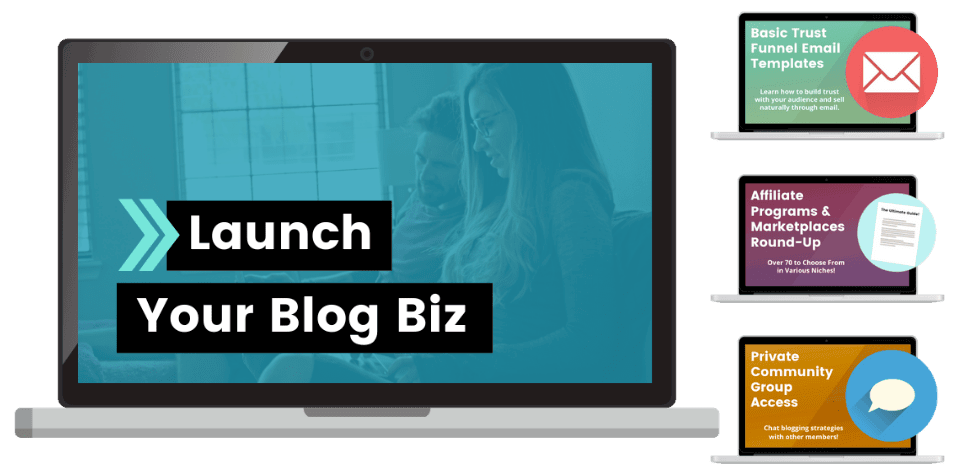 launch your blog biz create and go courses