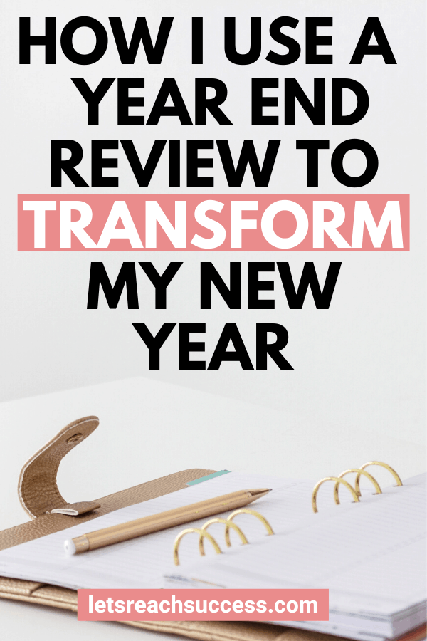 Want to finally make a change? Here's how to use a personal year end review to have a strong end of 2019 and kickstart the new year: #yearendreview #yearendreflection #2020goals #newyeargoals #newyearresolution
