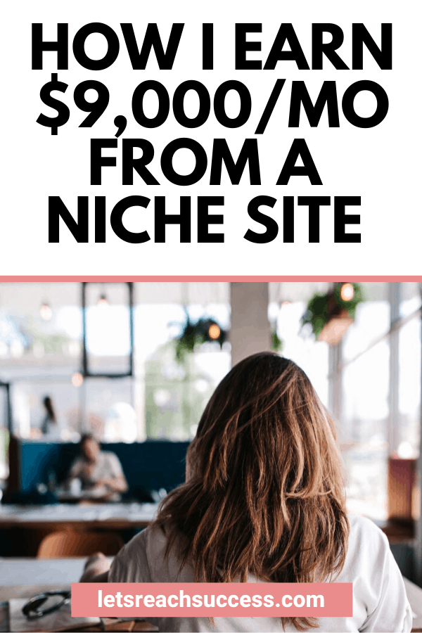 Want to start a site that makes money? Check out how Jeff did it. He went from a real estate broker to a real estate blogger with a niche site earning over $9,000/month: #makemoneyonline #nichesiteideas #nichesthatmakemoney #realestateblogging #bloggingtips #moneymakingideas #sidehustleideas