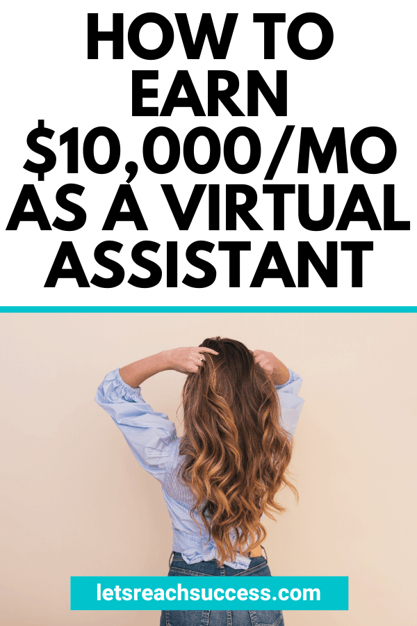 Want to become a VA and make money from home? Kayla Sloan was once in debt but now earns over $10K/month as a virtual assistant. Learn more about her story, what a VA does exactly and how to find your first clients: #becomeavirtualassistant #virtualassistant #makemoneyonline #workfromhomejobs #kaylasloan #vabusiness #howtostartavabusiness