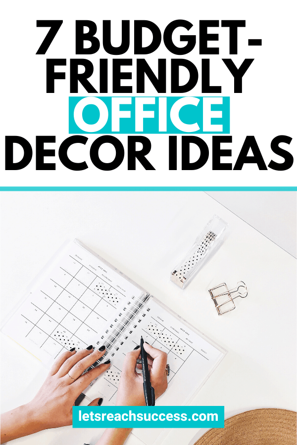 Check out these valuable business office decorating ideas you can do on the cheap: #officedecor #officedecorideas #businessofficedecoratingideas #businessofficedecor #businessofficedesign #officedesignideas