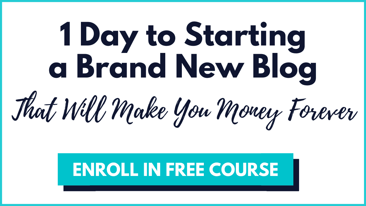 launch your blog course