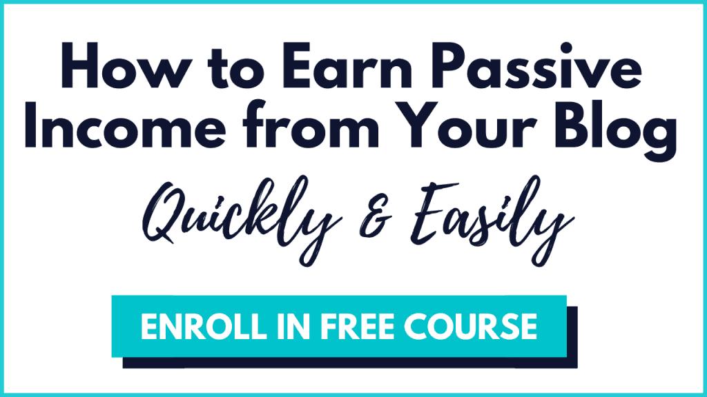 passive income boss free course