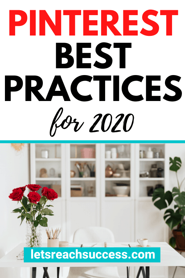 Learn more about the 2020 Pinterest algorithm update, what the current Pinterest best practices are, and how that affects bloggers: #pinterestbestpractices #pinterestupdate #newpinterestalgorithm #pinteresttips #pinteresttipsforbloggers