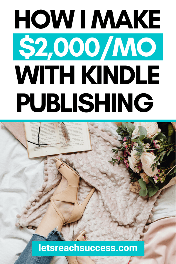 Learn how I started a publishing business on Kindle and now earn over $2,000/month from Amazon passively: #passiveincomeideas #makemoneyonamazon #kindlepublishing #amazonselfpublishing #passiveincomeamazon #howtosellebooks