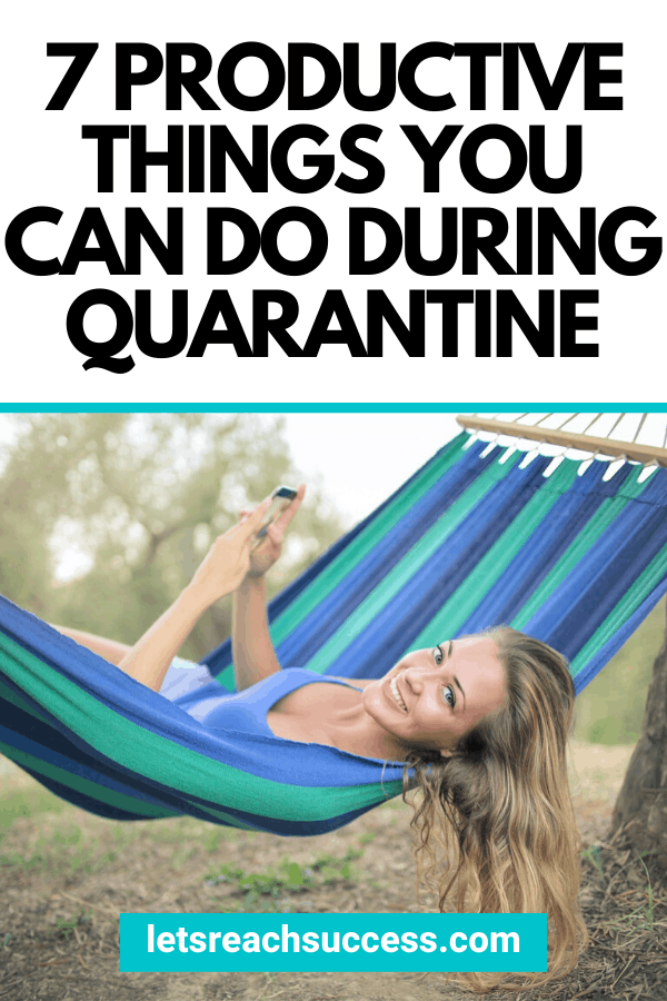 Want to be productive during lockdown? Here's how to make the most of quarantine and get things done on a daily basis? #whattododuringlockdown #lockdownideas #lockdownactivities #howtobeproductiveathome #thingstodoinisolation #thingstodoathome #isolationactivities #isolationideas