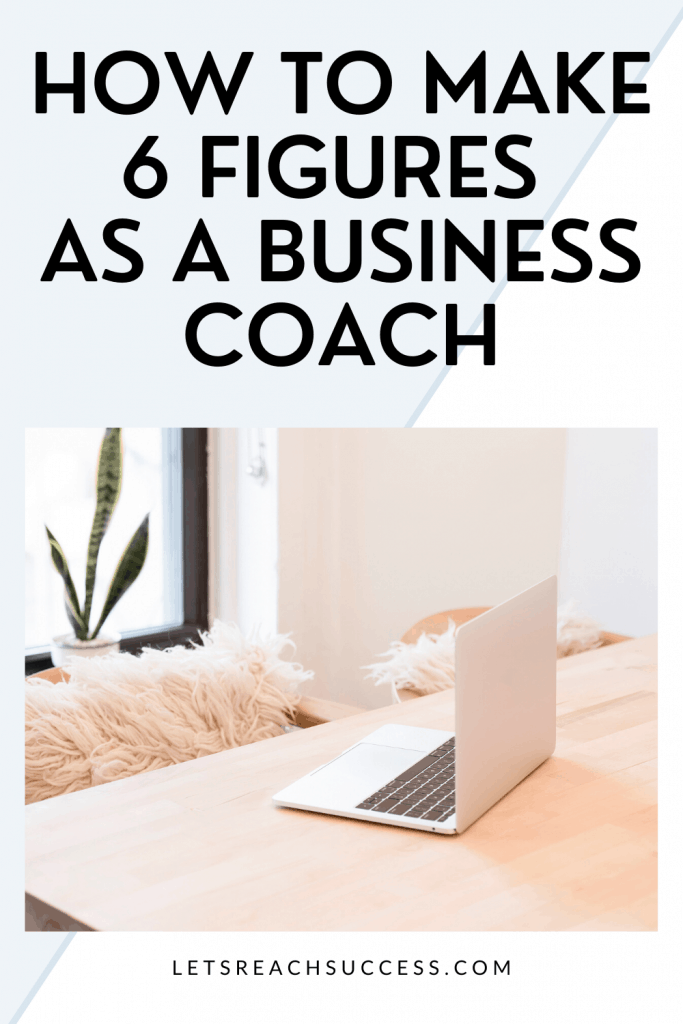 Want to become a coach and make a full-time income coaching? Check out the story of Elley who makes 6 figures doing what she loves: #howtobecomeacoach #makemoneycoaching #businesscoaching #startacoachingbusiness #moneymakingideas #workfromhomejobs