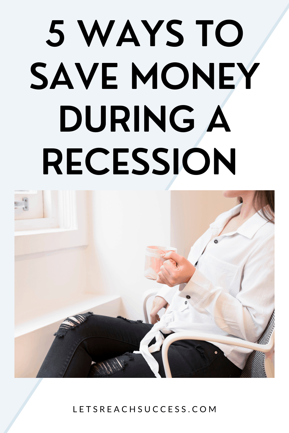 Now's the time to start saving money wherever you can and think about ways of cutting costs. Here are a few tips for how you can be more frugal if a recession is on the way: #savemoney #moneysavingtips #savemoneyduringarecession #recessionproof #savingmoneyinarecession