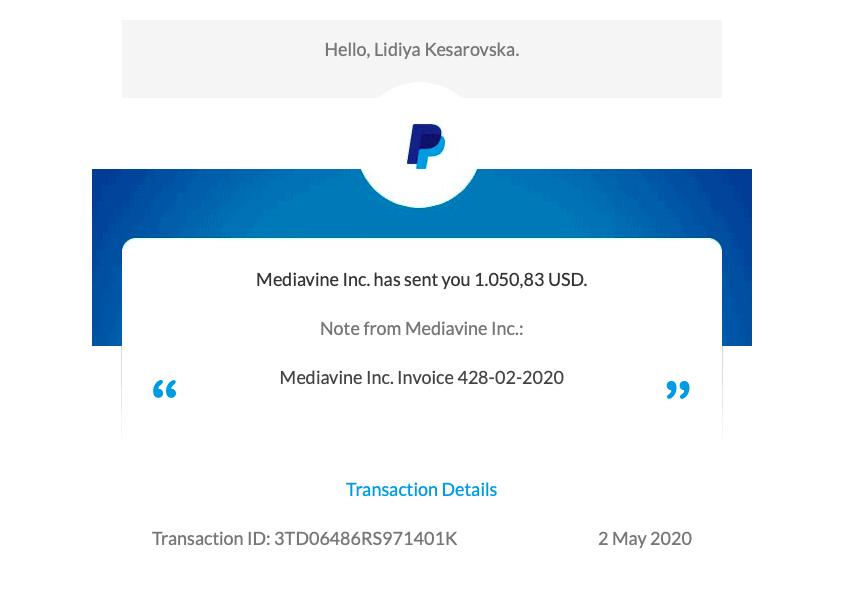 making money from mediavine