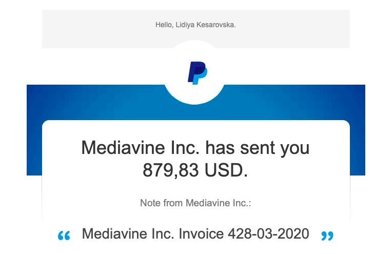 mediavine earnings june 2020