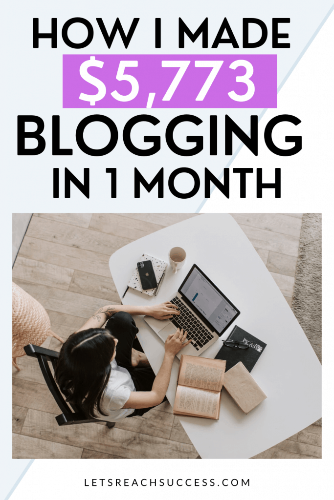 See how I was able to generate nearly $6K from my blogging business last month. Read about income, expenses, updates and my next goals: #blogincomereports #makemoneyblogging #blogtips #blogincome #sidehustleincomereport #workfromhome #fulltimebloggingincome #fulltimeblogger