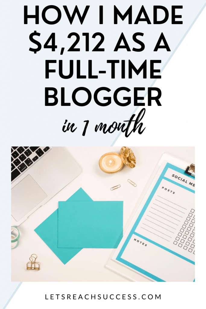 In this monthly income report, I share how much I earned and spent as a full-time blogger and how exactly I monetize my business: #fulltimeblogger #bloggerincomereports #incomereport2020 #blogtips #makemoneyblogging #blogincomereports