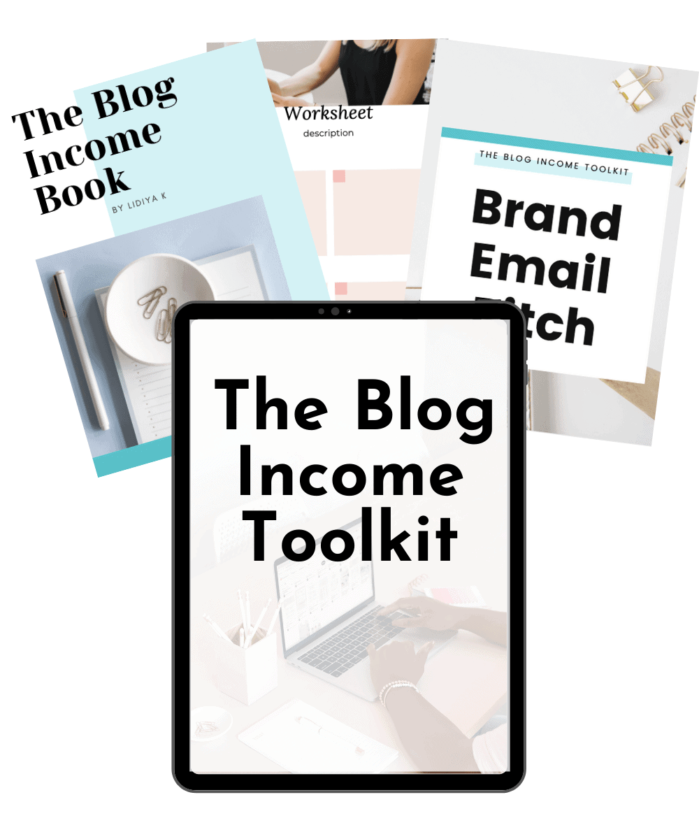 blog income toolkit