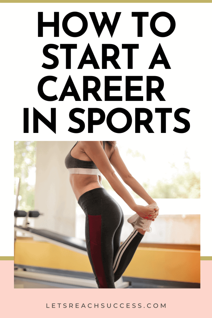 Here's how to turn your passion for sports into a full career: #sportsjobs #jobsinsports #sportscareers #makemoneydoingwhatyoulove #careeroptions #careerideas
