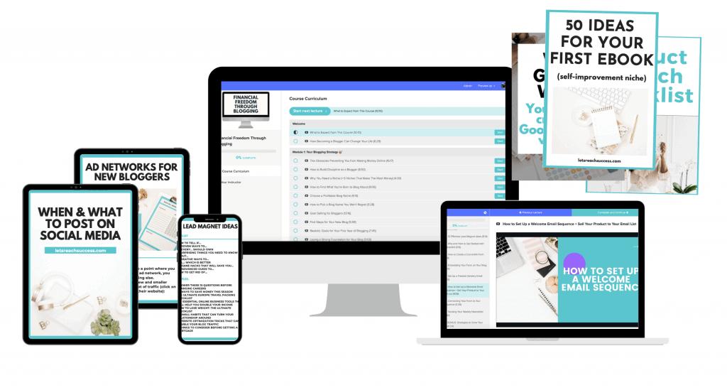 blog to biz system course