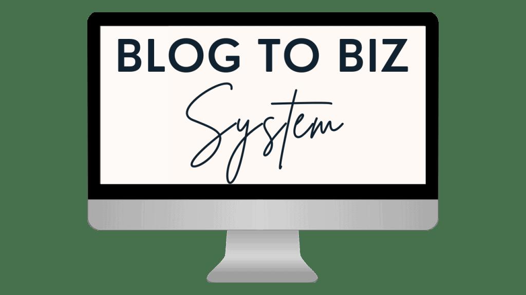 Blog to Biz System